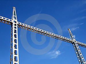 Industrial Bridge Stock Images - Image: 5558264