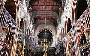 Cathedral Interior Royalty Free Stock Photography - Image: 5559977