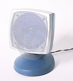 Speaker Stock Photo - Image: 5561740