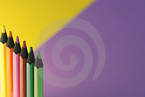 Colorful Pencils Stock Photo - Image: 5562040