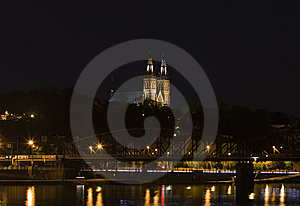 Prague By Night Royalty Free Stock Image - Image: 5562076