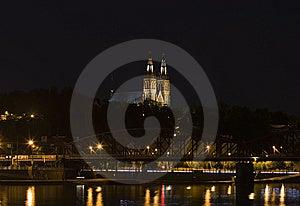 Prague By Night Royalty Free Stock Image - Image: 5562076