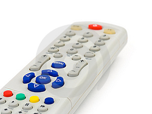 Macro Of Remote Control Stock Image - Image: 5566131