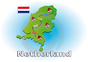 Traveling In Netherlands Stock Photos - Image: 5566643