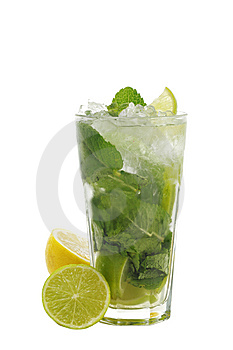 Cocktail - Mojito Stock Images