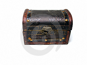 Old Chest Closed Stock Image - Image: 5576071