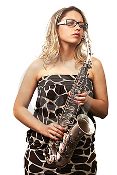 Playing Jazz Royalty Free Stock Photos - Image: 5577558