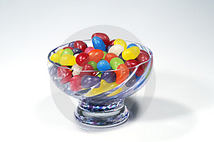 Colourful Jelly Beans Stock Photo - Image: 5579840