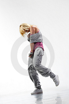 The dancer Stock Photo