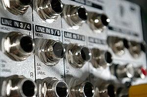 Mixer Desk Stock Photo - Image: 5584440