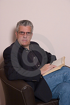 Reading A Book Stock Photos - Image: 5589883