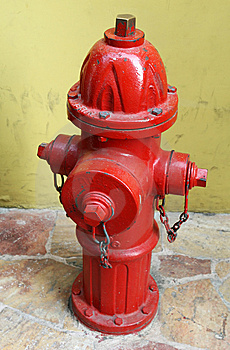 Red Fire Hydrant Royalty Free Stock Image - Image: 5591106
