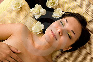 Spa salon Stock Image