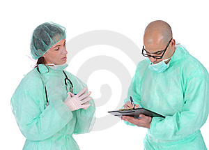 Group Of Healthcare Workers Stock Images - Image: 5597604