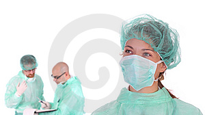 Successful Healthcare Workers Stock Image - Image: 5598551