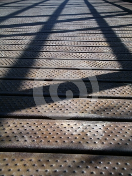 Bridge Shadows Royalty Free Stock Photos - Image: 562008