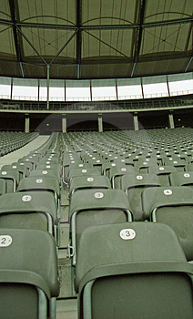Seats In A Stadium 4 Royalty Free Stock Photos - Image: 564348