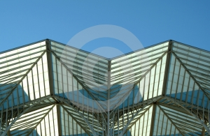 Metallic Structure Forms Stock Photos - Image: 566743