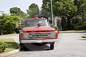 Vintage Fire Truck Stock Photos - Image: 5602603