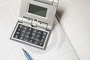Calculator Royalty Free Stock Photos - Image: 5603308