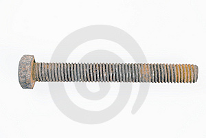Rusted Bolt Royalty Free Stock Image - Image: 5604136
