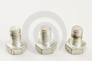 Rusted Bolt Stock Photography - Image: 5604142