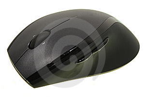Computer Mouse On White Stock Image - Image: 5605091