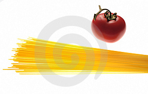 Pasta And Tomato Stock Images - Image: 5606154