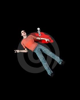 Viciado Em Drogas Inoperante De Uma Overdose Fotografia de Stock - Imagem: 5607412