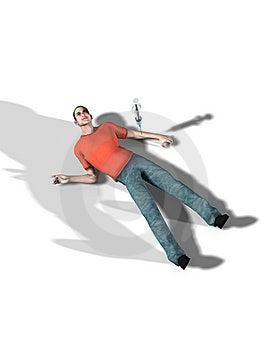 Viciado Em Drogas Inoperante De Uma Overdose Fotografia de Stock Royalty Free - Imagem: 5607417