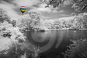 The Infrared Dreamy Scenery Royalty Free Stock Images - Image: 5607439