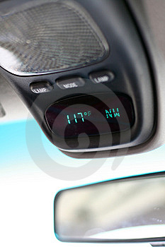 Automobile Thermometer - Hot! Stock Photos - Image: 5608603