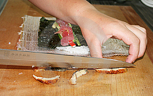 Preparation Sushi Stock Photography - Image: 5609192