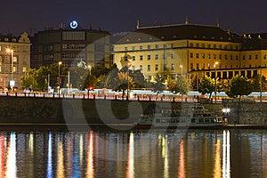 Prague By Night Stock Photo - Image: 5609590