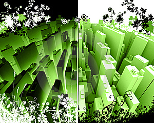 Night And Day Stock Image - Image: 5610901