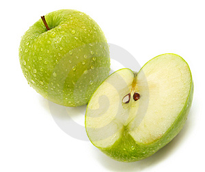 Fresh Green Apples Stock Photography - Image: 5613372
