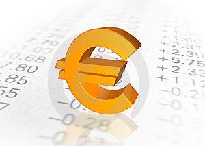 Euro Symbol Stock Image - Image: 5618861