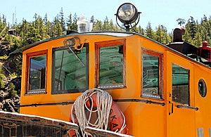 Tugboat Wheel House Stock Photo - Image: 5627920