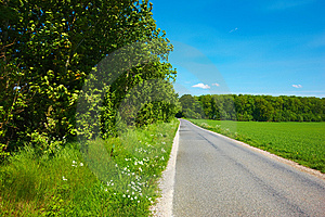 Country Road Royalty Free Stock Photos - Image: 5628688