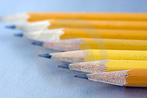 Sharpened Pencils Stock Photos - Image: 5629043