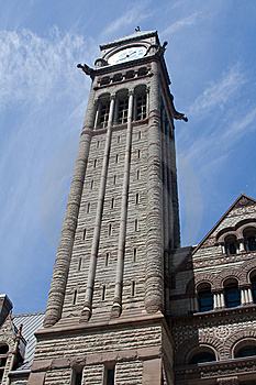 City Hall Tower Stock Photography - Image: 5629912