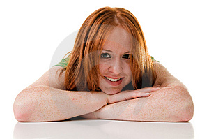 Red Haired Beauty Royalty Free Stock Photos - Image: 5631668