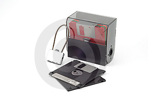 Boxed Diskettes Stock Photos - Image: 5634323