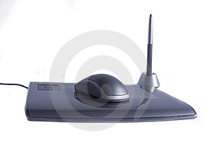 Mouse, Pen, Tablet  Royalty Free Stock Photo - Image: 5639035