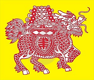 Myth Dragon Stock Images - Image: 5642424