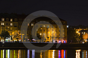 Prague By Night Stock Photography - Image: 5642502