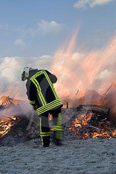 Fireman Stock Image - Image: 5644531