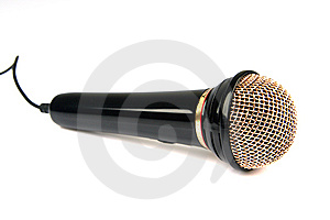 Microphone Stock Photo - Image: 5645330