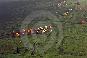 Base Camp Stock Image - Image: 5646331