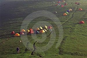 Base Camp Stock Image - Image: 5646331